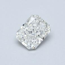 Recommended Stone #1: 0.48-Carat Radiant Cut Diamond