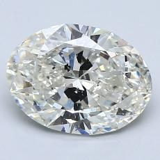 2.00-Carat Oval Diamond Very Good I SI2