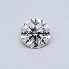 0.33 Carat 圓形 Diamond 理想 K VVS2