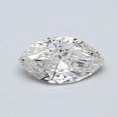 推荐宝石 3:0.50 克拉榄尖形钻石