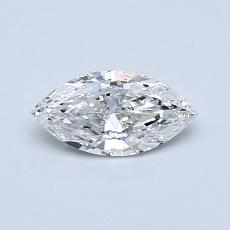 Recommended Stone #4: 0,40-Carat Marquise Cut Diamond
