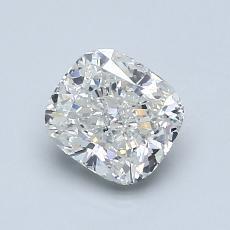 1.00 Carat 墊形 Diamond 非常好 I SI1