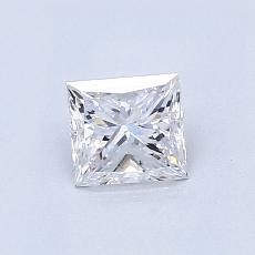 Recommended Stone #3: 0.60-Carat Princess Cut Diamond