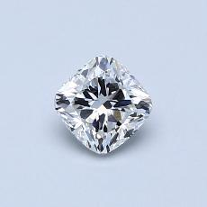 0.50 Carat Cojin Diamond ASTOR F VS1