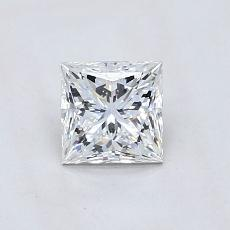 0.74-Carat Princess Diamond ASTOR F VVS1