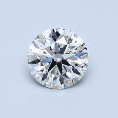 0.63 Carat 圓形 Diamond 理想 I SI2