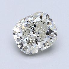 推荐宝石 1:1.21 克拉垫形切割