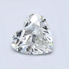 Recommended Stone #2: 0,84-Carat Heart Cut Diamond