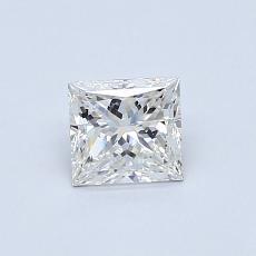 Recommended Stone #4: 0.50-Carat Princess Cut Diamond