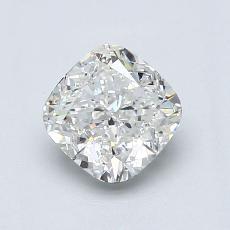 1.01 Carat クッション Diamond ベリーグッド I SI1