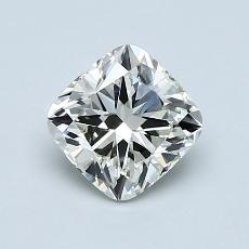 1.00 Carat 垫形 Diamond 非常好 K VVS2