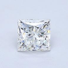 Recommended Stone #2: 1.20-Carat Princess Cut Diamond