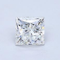 推荐宝石 3:1.20 克拉公主方形钻石