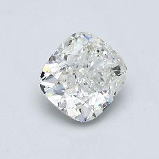 推荐宝石 3:0.70 克拉垫形钻石