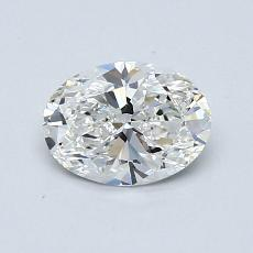 Recommended Stone #4: 0.70-Carat Oval Cut Diamond