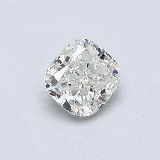 推荐宝石 4:0.49 克拉垫形钻石