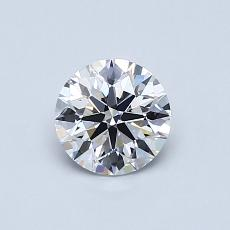 Recommended Stone #3: 0.63-Carat Round Cut Diamond