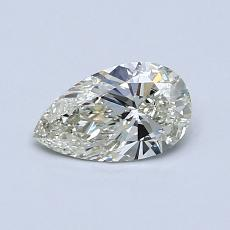 Recommended Stone #3: 0,52-Carat Pear Cut Diamond