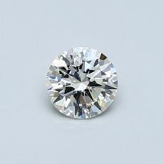 Pierre recommandée n°3: Diamant rond 0,41 carat