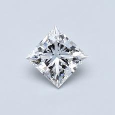 Recommended Stone #3: 0.51-Carat Princess Cut Diamond