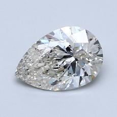 Recommended Stone #3: 1.12-Carat Pear Cut Diamond
