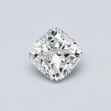 0.50 Carat クッション Diamond ベリーグッド F VS2