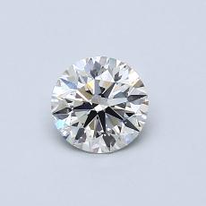 0.52 Carat 圆形 Diamond 理想 I VS1
