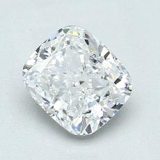 1.52-Carat Cushion Diamond Very Good E SI1