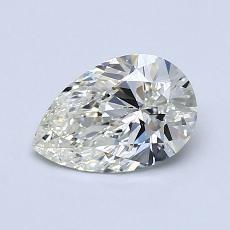 推薦鑽石 #1: 0.85 克拉梨形鑽石