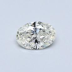 Recommended Stone #1: 0.36-Carat Oval Cut Diamond