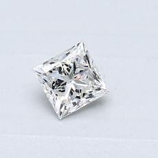 推薦鑽石 #2: 0.31  克拉公主方形鑽石