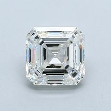Pierre recommandée n°4: Diamant taille Asscher 1,01 carat