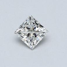 推薦鑽石 #2: 0.37  克拉公主方形鑽石