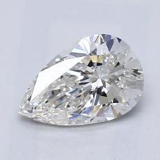 1.01 Carat 梨形 Diamond 非常好 G VVS1