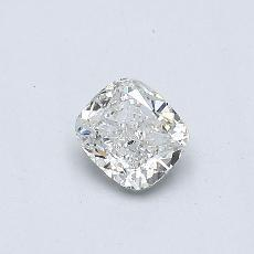 Recommended Stone #2: 0.33-Carat Cushion Cut Diamond