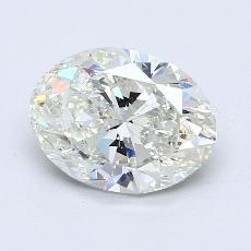推薦鑽石 #1: 2.70  克拉橢圓形切割