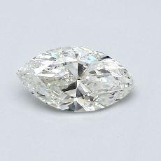 Recommended Stone #3: 0.46-Carat Marquise Cut Diamond