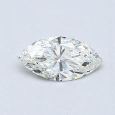 推荐宝石 1:0.38 克拉榄尖形钻石