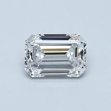 Recommended Stone #4: 0.71-Carat Emerald Cut Diamond