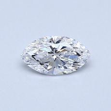 0.31-Carat Marquise Diamond Very Good D VS1