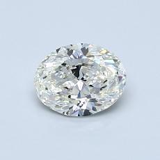 0.65-Carat Oval Diamond Very Good J VS2