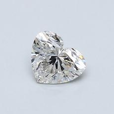Recommended Stone #4: 0.50-Carat Heart Cut Diamond