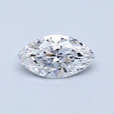 0.50 Carat 欖尖形 Diamond 非常好 D VS1