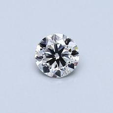 推荐宝石 3:0.30克拉圆形切割钻石