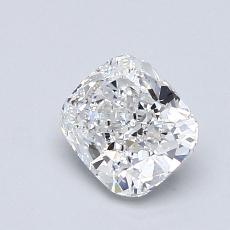 0.94-Carat Cushion Diamond Very Good E VS1