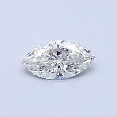 Pierre cible: Diamant taille princesse 0,31 carat