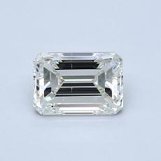 Recommended Stone #3: 0.70-Carat Emerald Cut Diamond