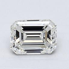 1.01-Carat Emerald Diamond Very Good I VS1