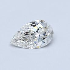 Recommended Stone #3: 0.43-Carat Pear Cut Diamond