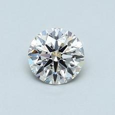 0.56 Carat 圆形 Diamond 理想 I SI2